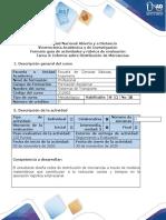 Guía de Actividades y Rubrica de Evaluación - Tarea 3 - Informe sobre Distribución de Mercancías