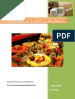 UFCD_3329_Preparação Do Serviço de Mesa_índice