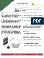 SEM 1. Banco de Preguntas DECO - Biología