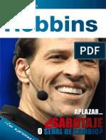 APLAZAR SABOTAJE O SEÑAL DE CAMBIO MAGAZINE - ANTHONY ROBBINS.pdf