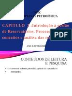 CAP 2 GESTÃO DE RESERVATÓRIO