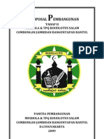 Proposal TPQ Musholla Roudlotus Salam Tahap II