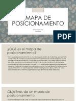 Mapa de posicionamiento