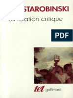 (Tel) Jean Starobinski - La Relation critique-Gallimard (2001).epub