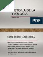 Síntesis de la Historia de la Teología