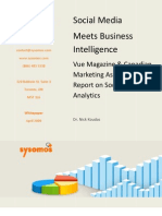 White Paper Social Media Meets Business Intelligence