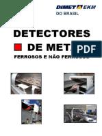 Folder Detectores de metais ferrosos e não ferrosos