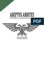 Warhammer 40k  Adeptus Arbites [codex]