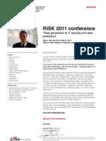 RiSK 2011 Invitation