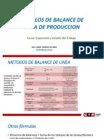 Ejemplos de Balance de Línea