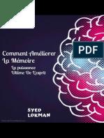 Comment ameliorer la memoire - - Syed Lokman.pdf