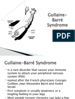 guillain barre syndrome case study quizlet