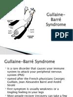 Gullaine-Barré Syndrome