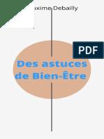 Des astuces de Bien-Etre (des a - Maxime Debailly.pdf