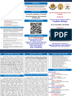 Brochure AICTE ATAL Academy Sponored FDP on Synthetic Biology (1)