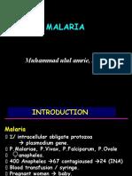 Malaria ~AmRie~
