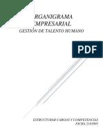 PROPUESTA DE ORGANIGRAMA