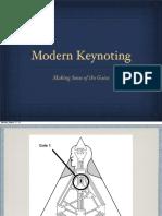 Modern Keynoting