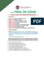 EL FINAL DE JUDAS