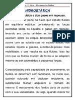Roteiro - 2ª Série - Decisão - Mecânica Dos Fluidos - 30 - 11