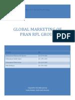 PRAN-International Marketing