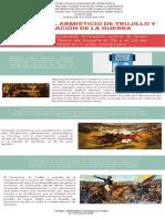 INFOGRAFIA TRATADO DEL ARMISTICIO DE TRUJILLO Y REGULACIÓN DE LA GUERRA (1) (1)