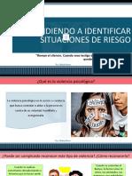 APRENDIENDO A IDENTIFICAR SITUACIONES DE RIESGO.pptx