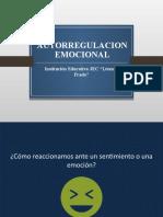 AUTORREGULACION EMOCIONAL
