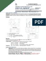 Practica 1 -Problema 3 - Metodo Apuntalado con Apoyos Intermedios Provisionales