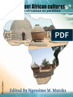 Evanescent African Cultures_ Cultures africaines en perdition (French Editi.pdf
