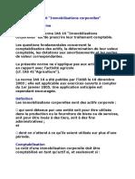 Résumé de IAS 16