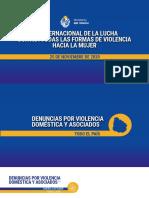 Ministerio Del Interior Cifras de Violencia de Género