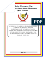 UNDP-CD-DemGov-DésarmementBuniaDiscoursMinistre