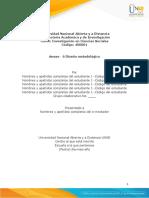 Anexo 6 - Diseño metodológico sociales