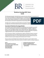 ABR Rad Onco MOC Study Guide