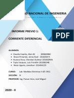 CORRIENTE DIFERENCIAL EN TRANSFORMADORES DE POTENCIA AVANCE (1)