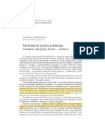 01_Antonina Grybosiowa, Jak historyk języka polskiego rozumie opozycję homo - animal