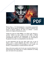 Pelicula del Joker y sus origenes
