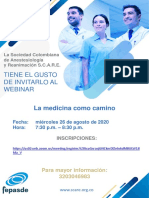 """WEBINAR """"La medicina como camino"""""""