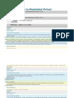 Cuestionario II - Aprendizaje Modalidad Virtual USB
