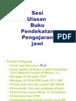 Pengajaran Jawi - Ulasan Buku 2009