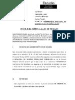 DEMANDA DE DESPIDO NULO POR EMBARAZO