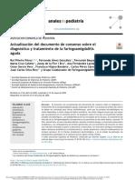 Consenso Español Faringoamigdalitis