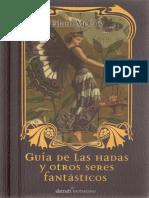 Guia de Hadas Y Otros Seres Fantasticos E Mccoy Alamah Santillana 2007.