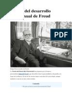 Etapas Del Desarrollo Psicosexual de Freud