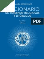 GARCIA RIVAS, M., Diccionario de terminos religiosos y liturgicos, 2020 [Tres vols unificados]