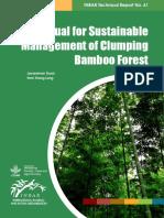 propagacion y plantaciones bambu
