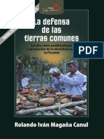 La defensa de las tierras comunes