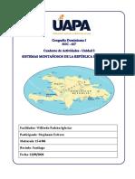geografia montanas