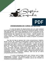 CRONOGRAMA CURSO DE BATERIA.2009